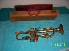 1948 FE OLDS AMBASSADOR Trumpet Los Angeles Plant Brass Nickle finish LA  as is