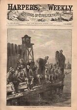 1877 Harpers Weekly August 4-Long Branch; Coney Island; Montreal riot; Armenia