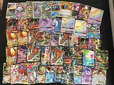 Pokemon TCG 100 Card Lot! Guaranteed EX, GX, Mega or Full Art Card! + TCGO CODE!