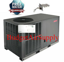 "3.5 (3 1/2)Ton 14 seer Goodman A/C""All in One""Package Unit GPC1442H41+TSTAT+Heat"