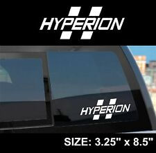 "Borderlands 2 / Pre-Sequel ""Hyperion"" Gun Manufacturer Sticker Decal"