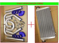 BLUEFIMC INTERCOOLER+TURBO PIPING KIT COUPLER CLAMP E30 E34 E36 E46 E90 325I M3