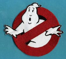 CHILD SIZED Iron-On  Ghostbusters No Ghost Costume Tag Patch