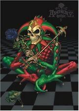 ALCHEMY GOTHIC ~ SKULL JESTER SITTING ~ 24x36 FANTASY ART POSTER ~ NEW/ROLLED!