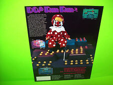 Universal Do! Run Run Original 1984 NOS Video Arcade Game Promo Adv. Flyer Mr Do