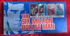 �� The 6 SiIX MILLION DOLLAR MAN  Vintage Board Game 1975 100% Complete