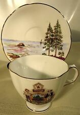 Royal Stuart Spencer Stevenson United States State of Maine Cup & Saucer