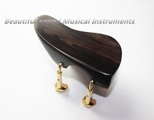 1 PCS NEW Natural Color EBONY VIOLIN CHINREST Ear shape 4/4 chin rest #3-11