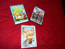Lot of 3 DVD Movies Shrek Special Edition, Golden Compass, X-Men Last Stand