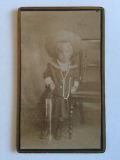 Victorian Carte De Visite CDV Photo - Unknown Child Sailor Suit