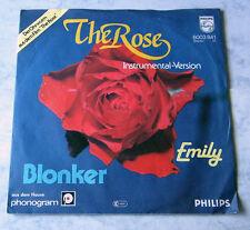 Blonker - The Rose / Emily .. 1980 Philips 6003841