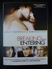 Breaking and Entering (DVD*Eng/Fr*Jude Law*Juliette Binoche)  FAST SHIPPING