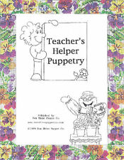 Teacher's Helper Puppetry for Christian Education Teachers-Simple Puppet Scripts