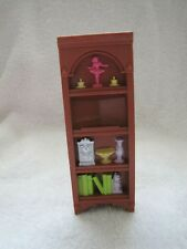 FISHER PRICE Loving Family Dollhouse CORNER CABINET BOOKSHELF for Living Room