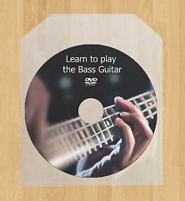 Learn how to play the Bass Guitar lessons DVD video guide tutorial tuition