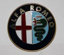 ALFA ROMEO FRONT OR REAR BADGE METAL LOGO EMBLEM HIGH QUALITY 75mm