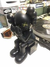 Kaws Original Fake 'Passing Through' Black Companion Replica Figure 37cm No Box