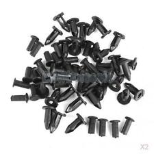 60PCS ATV FENDER PUSH CLIPS FOR HONDA TRX 350 300 250 RANCHER GM 21075686