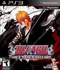 Bleach: Soul Resurrección (Sony PlayStation 3, 2011) DISC IS MINT