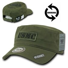 Olive United States US Marines USMC Military Embroidered Baseball Cadet Cap Hat