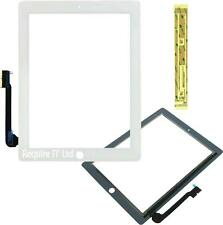 NEW iPad 3 A1403 16GB WHITE MD363LL/A REPLACEMENT TOUCH DIGITIZER + FIXING TAPE
