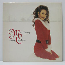 MARIAH CAREY - Merry Christmas LP EU ORIG 1994 ULTRA RARE WHITNEY w/ Insert