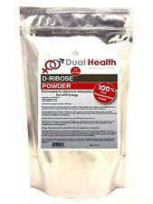 (4 oz) D-Ribose Powder ATP Energy Endurance Muscle Sport Pharmaceutical USP