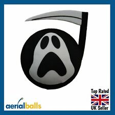Grim Reaper Halloween Ghost Car Aerial Ball Antenna Topper - Brand New Design!