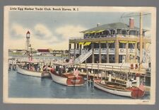 [53585] 1952 POSTCARD LITTLE EGG HARBOR YACHT CLUB, BEACH HAVEN, NEW JERSEY
