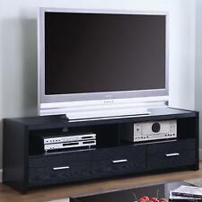 Coaster 700645 - TV Stands Contemporary Media Console with Shelves and Drawers
