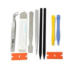 10Pcs Spudger Set Repair Metal & Plastic Opening Pry Tool for Smartphones