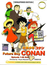 Conan, the Boy in Future DVD Complete Remastered Edition Anime Miyazaki NEW