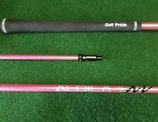 PINK ALDILA NV 55 S STIFF LONG DRIVE DRIVER SHAFT FITS PING G AND G30 DRIVERS