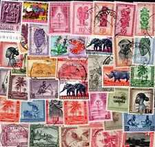 Belgique - Belgium colonies 200 timbres différents