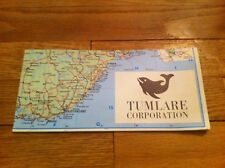 Vintage Tumlare Corporation Tourist Map Of Norway Carte Touristique De Norvege