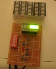 5pcs LED bargraph modules, 10bars each, green for graphic Equalizer display etc.
