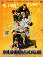 HUMSHAKALS - BOLLYWOOD ORIGINAL 2 DISC DVD - FREE POST
