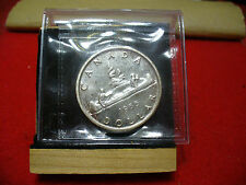 1955  CANADA  SILVER  DOLLAR  COIN   C.C.C.S. GRADED  PL-66     SEE PHOTOS