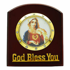 Mother Mary Statue Religious Decorative Car Table Décor Gift Dashboard CD1131A