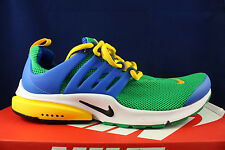 NIKE AIR PRESTO ESSENTIAL LUCID LUCKY GREEN HYPER COBALT MAIZE 848187 300 SZ 9