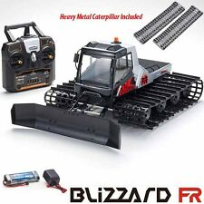 Kyosho Blizzard FR 1/12 Belt Snow Vehicle RS w/ Radio + Heavy Metal Caterpillar