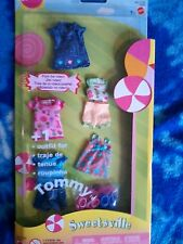 Barbie Baby KELLY Tommy SWEETSVILLE Fashion Dress Shorts Pajamas clothes shoes