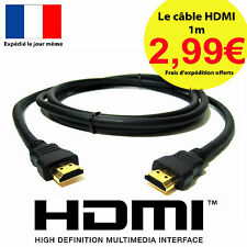 CABLE HDMI OR FULL HD 3D BLU RAY PS3 XBOX 1.4 LCD PLASMA 1920x1080P 1m