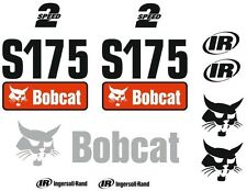 (ORIGINAL LOOK) BOBCAT S175 FULL DECAL STICKER SET KIT SKID STEER