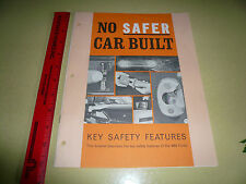 Mid Sixties Ford Safety Brochure - Vintage