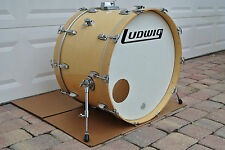 "1990's LUDWIG 26"" CLASSIC NATURAL MAPLE BASS DRUM for YOUR DRUM SET! LOT #V484"