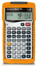 New Calculated Construction Master Pro 4065 w/Hard Case & Priority Mail