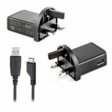 Genuine Sony Mains Wall Charger EP800 Adapter for Xperia Z1 Z2 Z1 Compact M2 UK
