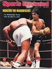 Sports Illustrated 1977 CARLOS MONZON Argentina Boxing MMA UFC No Label