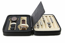 Executive High class Cufflink Case & Ring Storage Organizer Men's Jewelry Box